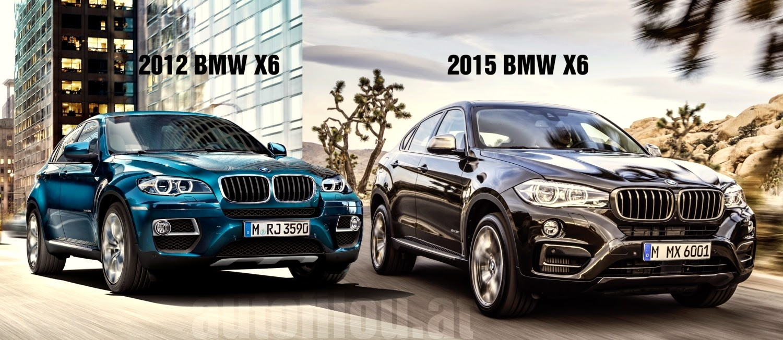 Vergleich 2012 Vs 2015 Bmw X6 Video Autofilou