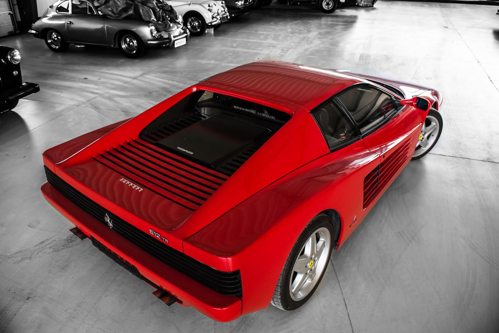Aus österreichs Garagen 1992 Ferrari 512 Tr Autofilou